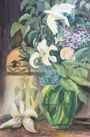 Lilies And The Dove II